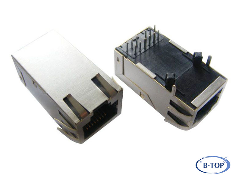 1 3in Gigabit Rj45 Connector Without Leds