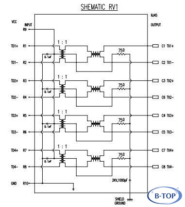 8 port ethernet switch clutch safety switch wiring diagram